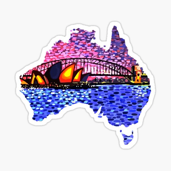 Sydney Harbour Sticker