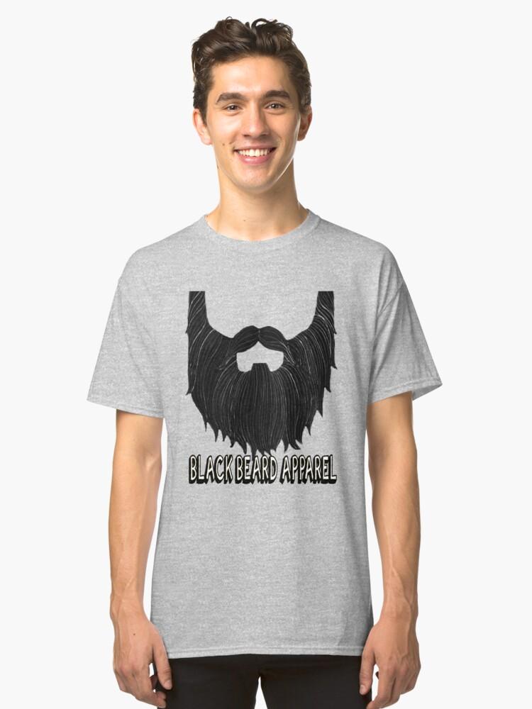 Beardalicious Classic T-Shirt Front