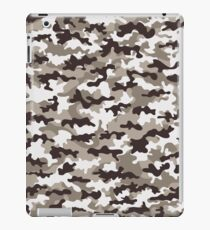 Camouflage military cloth of infantry iPad Case/Skin