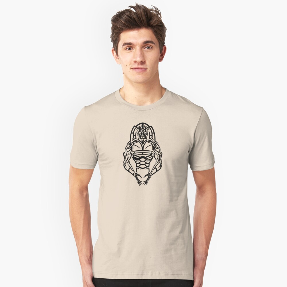 Tribal Warrior Unisex T-Shirt Front