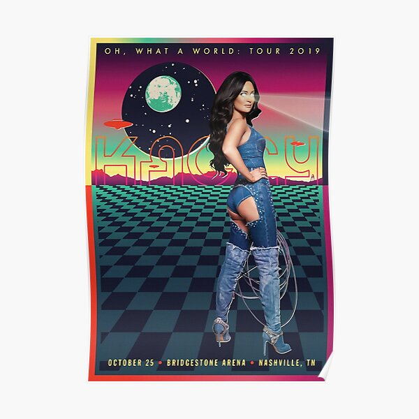 KACEY WORLD TOUR 2019 Poster