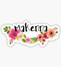 Makenna Floral Sticker