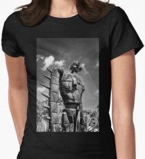 Sky soldier Womens Fitted T-Shirt