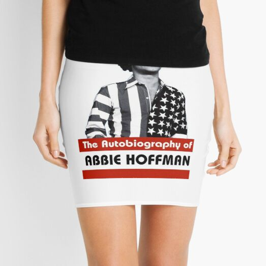 The Autobiography of Abbie Hoffman Mini Skirt