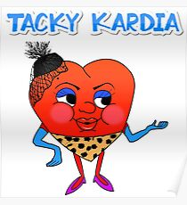 Tacky Kardia Poster