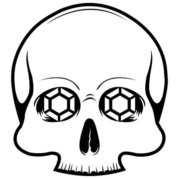Defy Danger Skull Sticker by defydanger