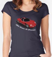 Alfa Romeo 33 Stradale Women's Fitted Scoop T-Shirt