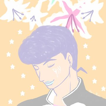 Josuke and lilies by Kururu4ever