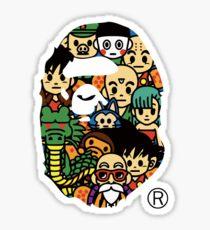 DBZ FAPE STICKERS Sticker