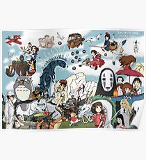 Studio Ghibli Tribute Poster
