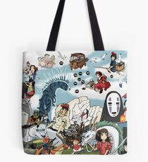 Studio Ghibli Tribute Tote Bag