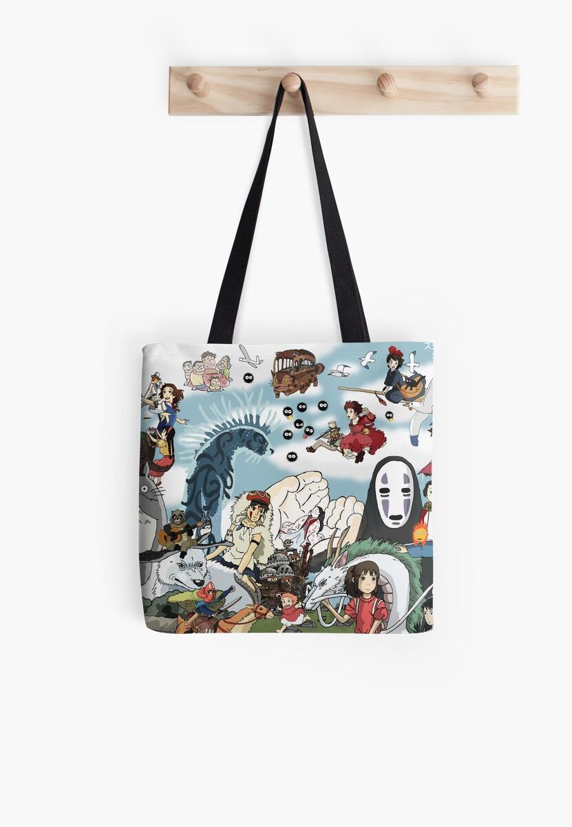 Studio Ghibli Tribute by Juggernaut-Art