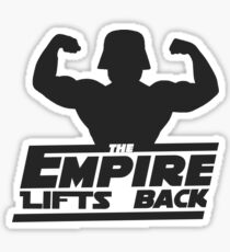 Star Wars - The Empire Lifts Back Sticker