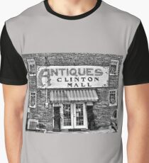 """""""Antiques, Clinton Mall, #2""""... prints and products Graphic T-Shirt"""