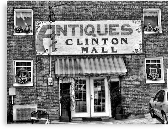 """""""Antiques, Clinton Mall, #2""""... prints and products by Bob Hall©"""