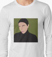Military Kim Kardashian  Long Sleeve T-Shirt
