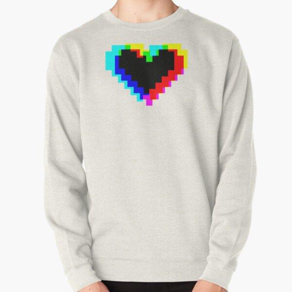 Heart so Pixel Pullover Sweatshirt