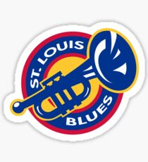 STL blues Sticker