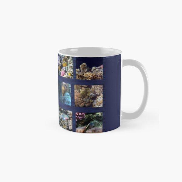 Hurmerinta Red Sea Sealife Collage 3 Classic Mug