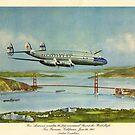 Pan American World Airways Vintage Advertising Poster by Framerkat