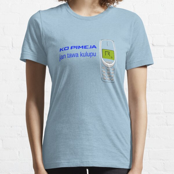 Retro Snake Cellphone toki pona Fun Brands Essential T-Shirt