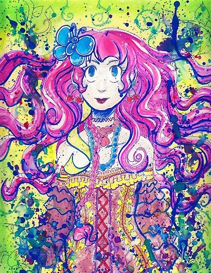 Butterfly Girl by SaradaBoru