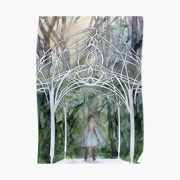 Elven Forest Pavillion Poster