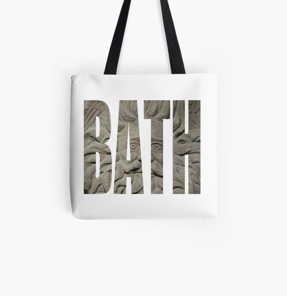 Bath Gorgon All Over Print Tote Bag