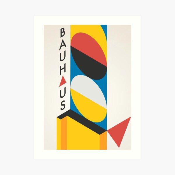 Geometry Bauhaus Art Print