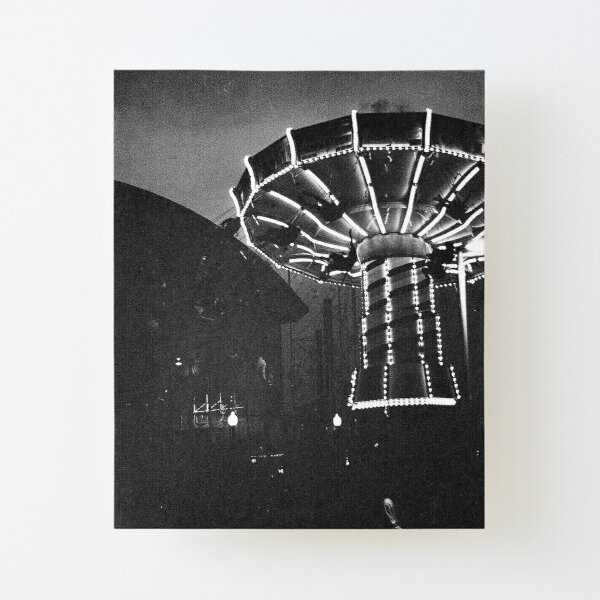 Navy Pier Film Photograph Canvas Mounted Print