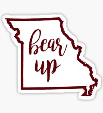 Bear Up Missouri State Sticker