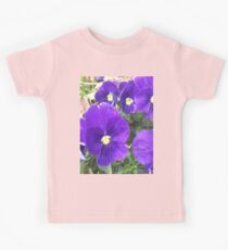 Purple Spring - Flowers If you like, please purchase, try a cell phone cover thanks Kids Tee