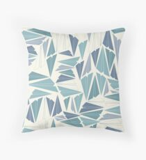 Paper AIrplane 53 Throw Pillow