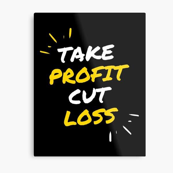 Take Profit Cut Loss Lámina metálica