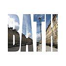 Great Pulteney Street, Bath by MissElaineous Designs