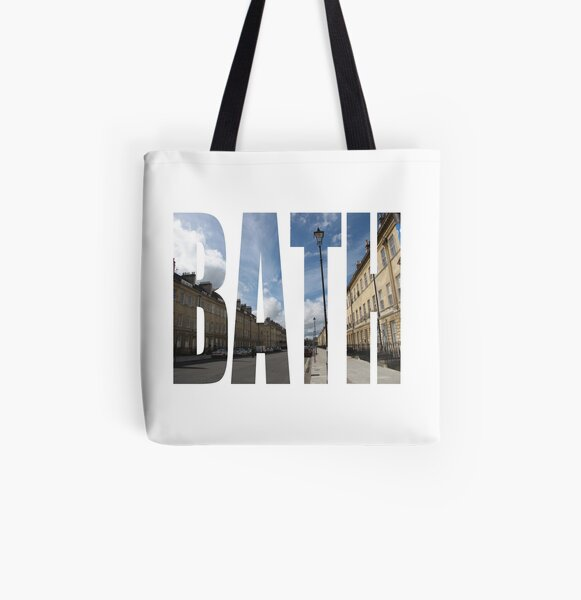 Great Pulteney Street, Bath All Over Print Tote Bag