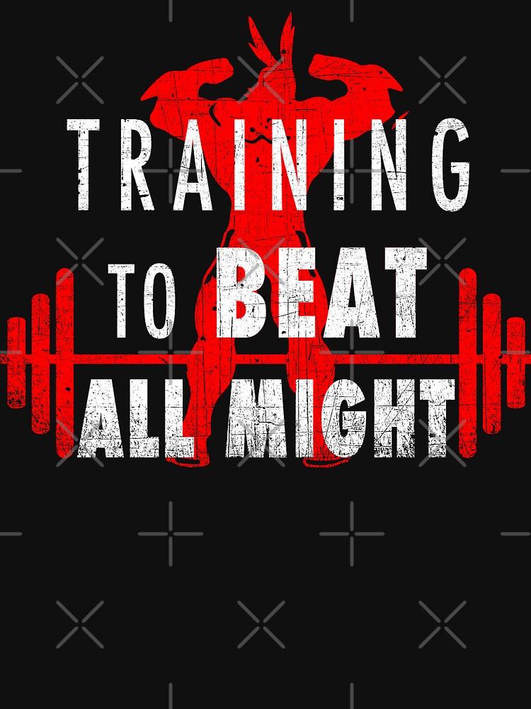 Training to beat All Might - my hero academia | Unisex Tank Top