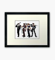 Squall Leon by years Framed Print