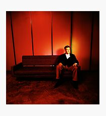 David Lynch Red Couch Photographic Print