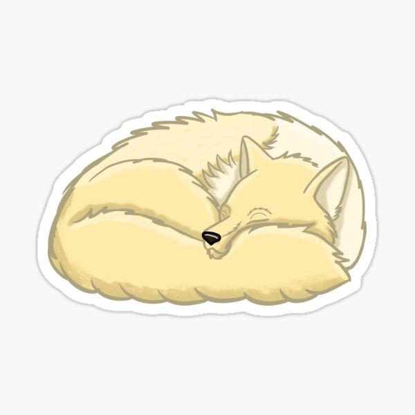 Slumbering Anne Sticker