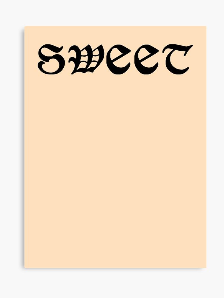 Dude Sweet Wheres My Car Tattoo Shirt 2 Canvas Print