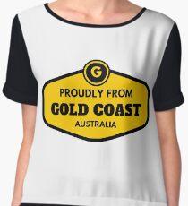 Proudly From Gold Coast Australia Chiffon Top