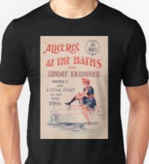 Artist Posters Alice Rix at the baths in the Sunday Examiner November 17 0395 T-Shirt