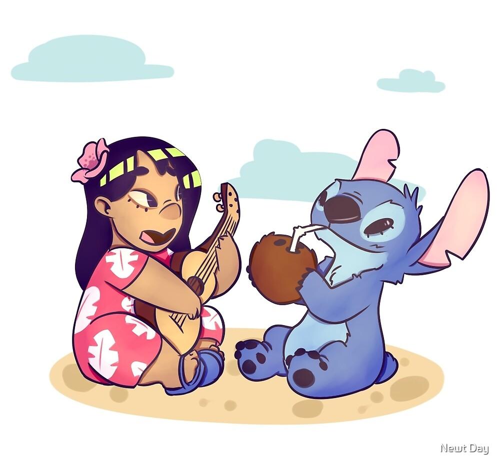 Lilo and Stitch by Doodle Joy
