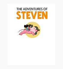 The Adventures of STEVEN (TINTIN) Photographic Print