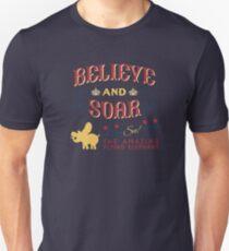 Glauben und steigen! Unisex T-Shirt