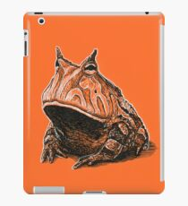Orange Frog iPad Case/Skin