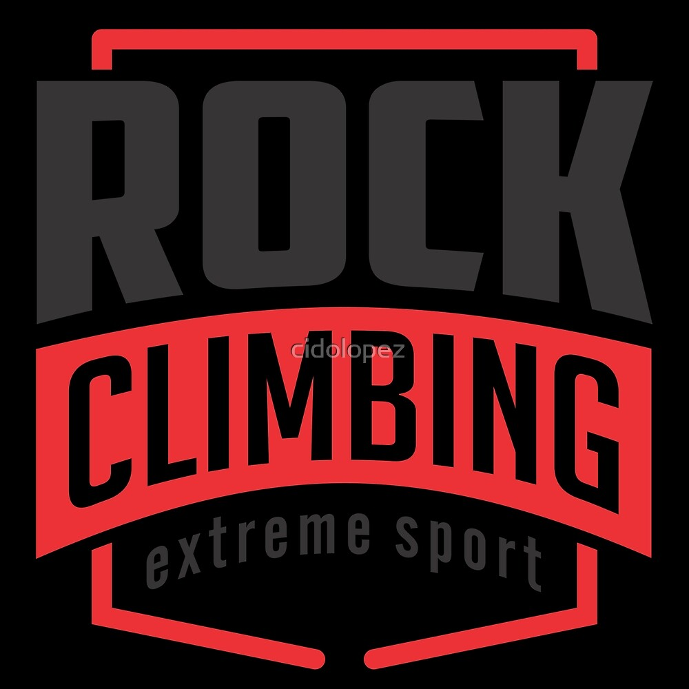 Rock Climbing Extreme Sport by cidolopez
