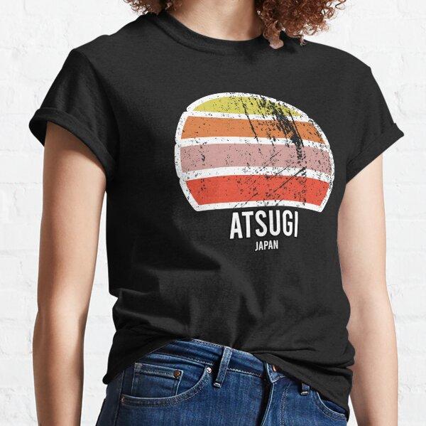 Atsugi Japan Cities and Regions Abstract Vintage Sun Souvenir Classic T-Shirt