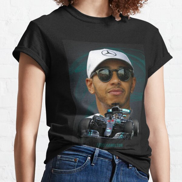 Lewis Hamilton Union Jack 44 Motor Racing T-Shirt